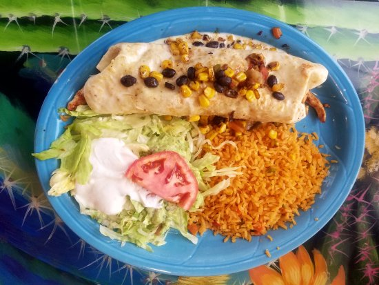 Little Chute, Ουισκόνσιν: Burrito Santa Fe!