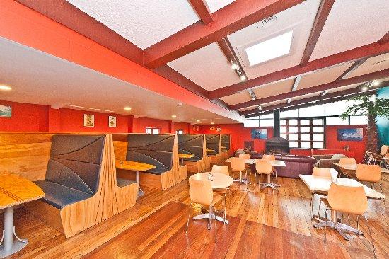 Whanganui, New Zealand: cafe and bar