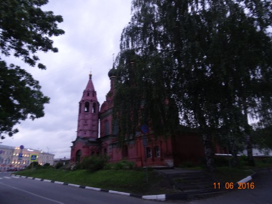 Epiphany Church: Церковь Богоявления в Ярославле, июнь 2016 года...