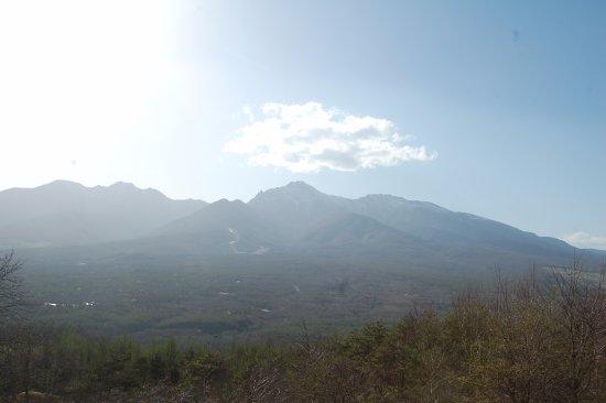 Minamimaki-mura, Giappone: 平沢峠から見た八ヶ岳