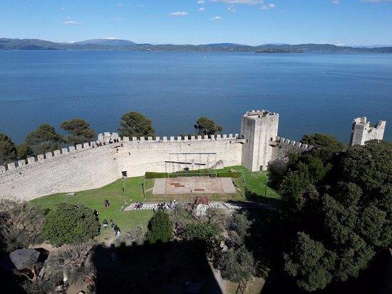 Castiglione del Lago, Ιταλία: Panorama