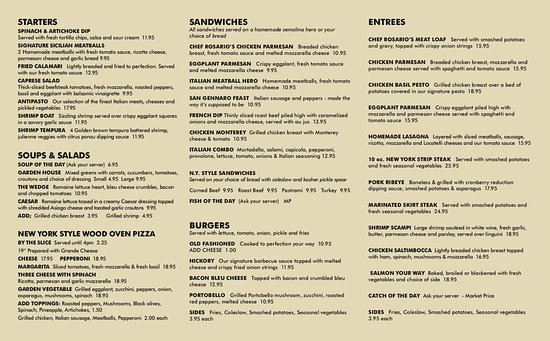 Wilton Manors, FL: Our Menu Dine In or Take Out