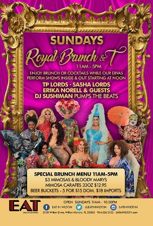 Wilton Manors, FL: Our Sunday Brunch Promotion