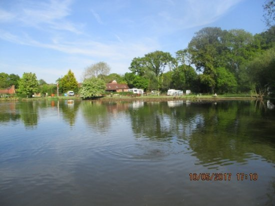 East Horsley, UK: otherside of Campsite