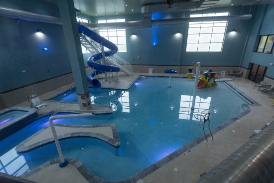 New indoor water park picture of holiday inn express - North east hotels with swimming pool ...