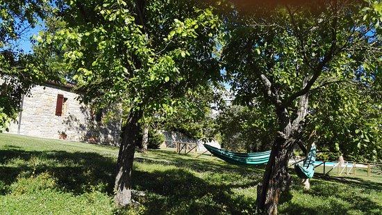 Parrano, Italy: suite indipendente con giardino