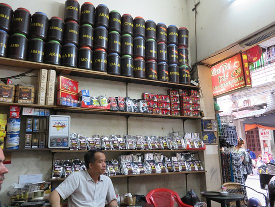 Custom Vietnam Travel Day Tours: BEST egg coffee,go to this shop,buy coffee as well,I liked weasel nr 1