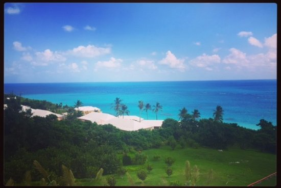Elbow Beach, Bermuda: View from the boardroom