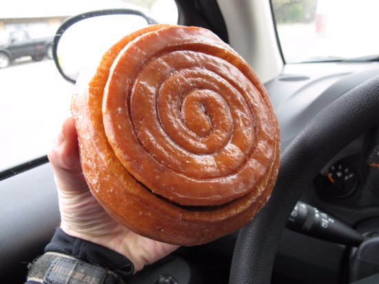 Weaverville, CA: the cinnamon roll
