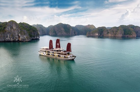 Hai Phong, Vietnam: Overview of Orchid Halong Cruise