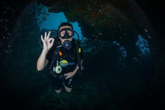 Lanta Diver: Me, the happy diver :)