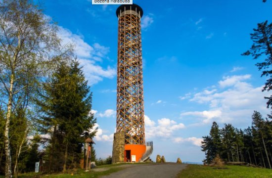 Vsetin, Tjeckien: Rozhledna Vartovna u Seninky