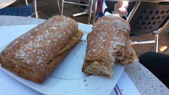 Sant Esteve de Palautordera, Spanien: tortilla