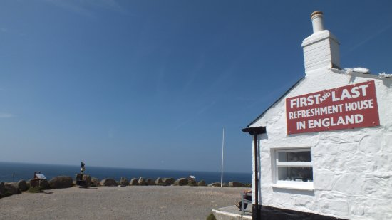 Sennen, UK: Land's End First and Last Refreshment House
