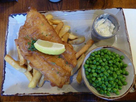"""St. Peter, UK: Fish & Chips """"école""""..!!"""