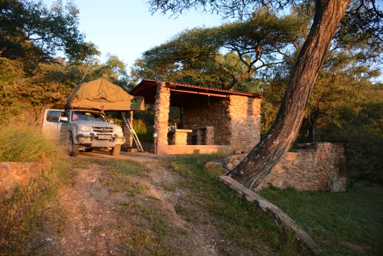 Tsumeb, Namibia: Camp sites with ablutions