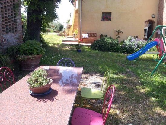 B&B A Casa di Lizzy: una parte del giardino