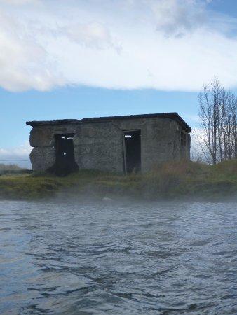 Fludir, ไอซ์แลนด์: remnants of the old changing rooms