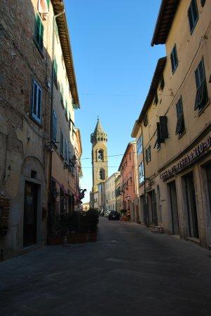 Il centro storico di Peccioli