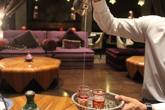 Argan Moroccan Restaurant: Traditional Moroccan Tea