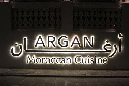 Argan Moroccan Restaurant: A definite try