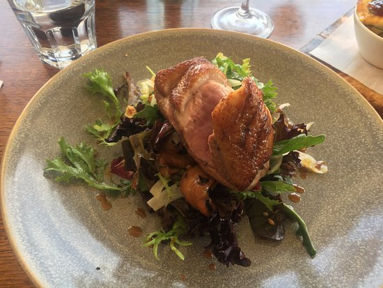 Fowles Wine Cellar Door and Cafe: Poor duck, without flavour