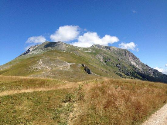 Arquata del Tronto, Italie : Forca di Presta