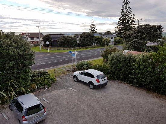 Waihi Beach, Nueva Zelanda: View from breakfast balcony