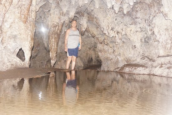 Hoyop-Hoyopan Cave: Small Cave Lake