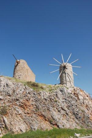 Lasithi Prefecture, Grecia: Griekse windmolen