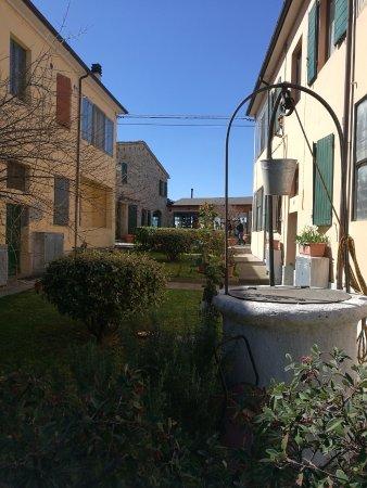 Roncofreddo, Italy: esterno del ristorante