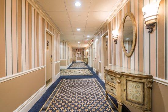 Hallway At Wolcott Hotel New York City