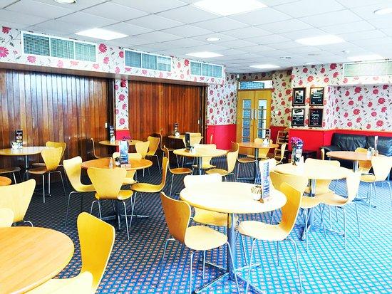 Burgess Hill, UK: cafe
