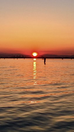 Province of Venice, Italy: Venetian sunset, too...