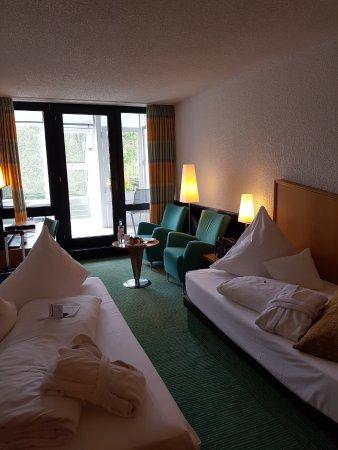 Best Western Premier Parkhotel Bad Mergentheim: auf Wunsch hatten wir getrennte Betten