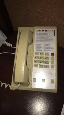 Bridgeton, MO: The phone from another hotel???