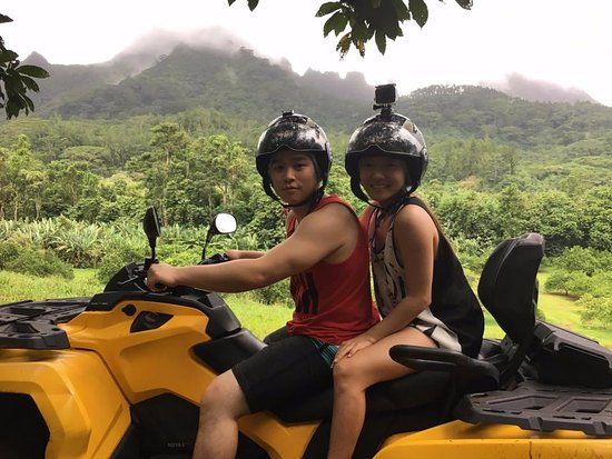 Papetoai, Französisch-Polynesien: ATV Tour
