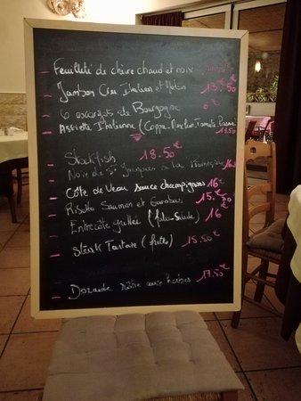 La Turbie, Frankrike: Cena per caso