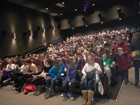 Sewickley, PA: Sold out in the 169-seat Large Screening Room, with 7.1 Surround Sound and 4K visuals.