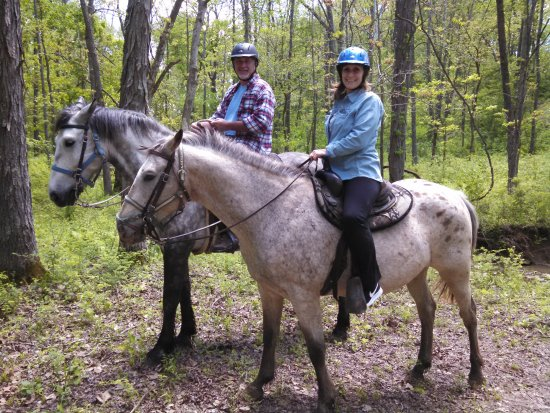 Whispering Woods Riding Stable: Embracing the beauty of a horseback ride in a natural setting