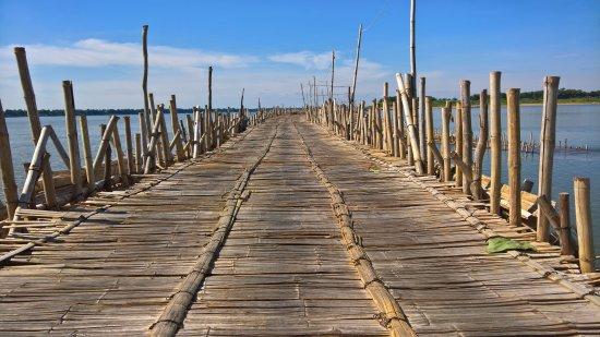 Ko Paen Bamboo Bridge
