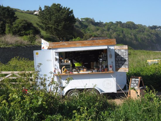 Strete, UK: Lime Coffee Company Beach Cafe