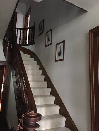 Wooster, OH: Original 160 year old Walnut Staircase