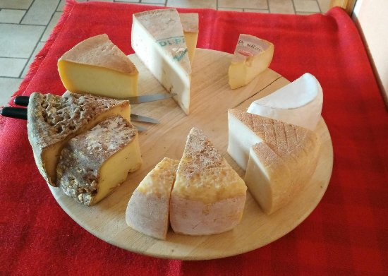 Croce Bianca: assiette fromage