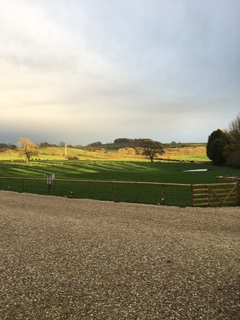 Crewkerne, UK: Stunning view from lodges