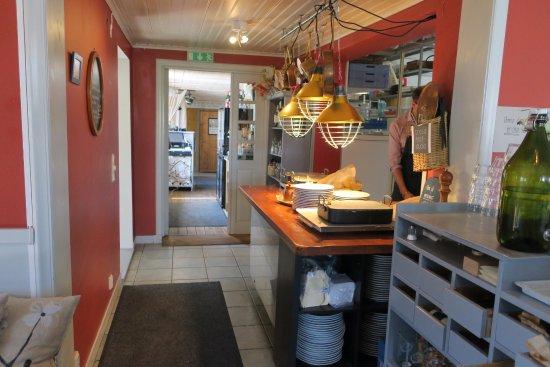 Trosa, Sweden: Här hämtar man maten