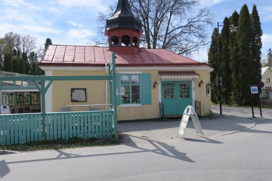 Trosa, Sweden: Gamla brandstationenen