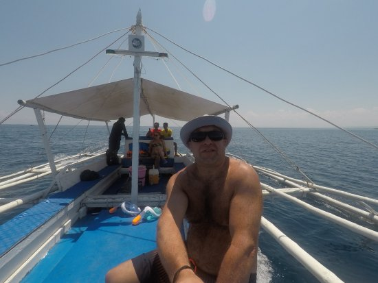 Isla Hayahay: out on hotels boat trip