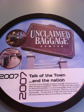Unclaimed Baggage Center, Scottsboro, AL