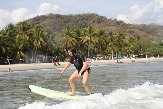 Choco's Surf School: Surfing!